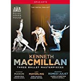 Kenneth MacMillan - Three Ballet Masterpieces [Tamara Rojo; Carlos Acosta; Edward Watson; Royal Opera House; Martin Yates; Barry Wordsworth] [Opus Arte: OA1246BD] [DVD]